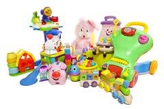 Juguetes del bebé Fotografía de archivo libre de regalías
