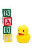 Juguetes del bebé Fotos de archivo libres de regalías