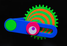 Juguetes del color Imágenes de archivo libres de regalías