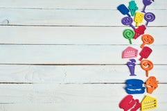 Juguetes del color Imagen de archivo