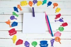 Juguetes del color Foto de archivo libre de regalías