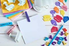 Juguetes del color Imagen de archivo libre de regalías