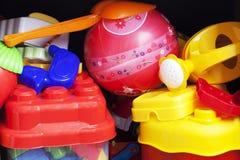 Juguetes del niño Imagen de archivo libre de regalías