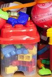 Juguetes del niño Fotos de archivo