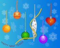 juguetes del Nuevo-año Foto de archivo libre de regalías