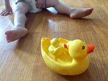 Juguetes del pato Fotografía de archivo libre de regalías