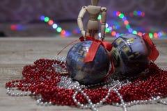 Juguetes del ` s del Año Nuevo Foto de archivo libre de regalías