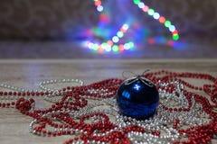 Juguetes del ` s del Año Nuevo Fotografía de archivo libre de regalías