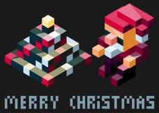 Juguetes elegantes de la Navidad Imagen de archivo