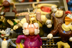 Juguetes de Figurins Fotos de archivo