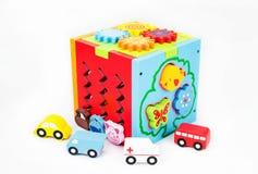 Juguetes para la ilustración de children Fotografía de archivo libre de regalías