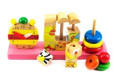 Juguetes para los niños, rompecabezas Imagen de archivo libre de regalías