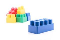 Juguetes plásticos Foto de archivo libre de regalías