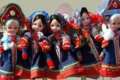 Juguetes rusos Imagenes de archivo