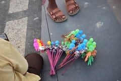 Juguetes tradicionales de los niños imágenes de archivo libres de regalías