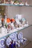Juguetes y platos de Hollyday Foto de archivo libre de regalías