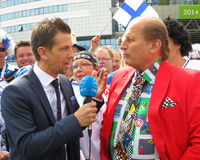 Juhani Tamminen - Ice Hockey World Championship Royalty Free Stock Photo