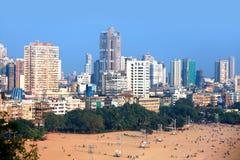 Juhu beach in Mumbai Stock Image