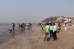 Juhu Beach, Mumbai Stock Photo
