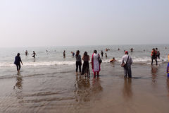 Juhu Beach, Mumbai Royalty Free Stock Image