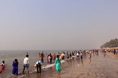 Juhu Beach, Mumbai Stock Photos