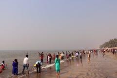 Juhu-Strand, Mumbai Stockfotos