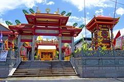 Jui Tui świątynia w Phuket miasteczku, Tajlandia Zdjęcie Royalty Free