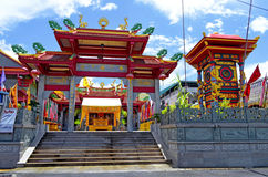 Jui Tui Shrine in Phuket-Stadt, Thailand Lizenzfreies Stockfoto