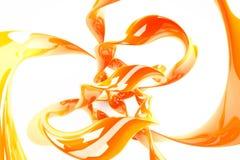Juice_2 orange Photo libre de droits