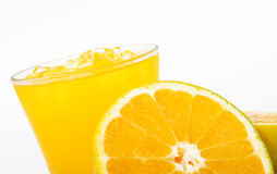 Juice And Fruit Stock Photo