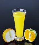 Juice, apple orange Royalty Free Stock Image