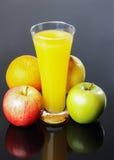 Juice, apple, orange,lemon Stock Images