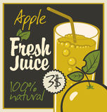 Juice apple Royalty Free Stock Photography