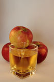 Juice and apples Royalty Free Stock Photo