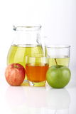 Juice of apples Royalty Free Stock Photo