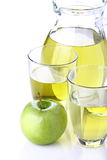 Juice of apples Royalty Free Stock Photos