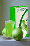Juice of apples Royalty Free Stock Photography