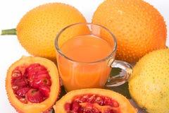 Juice of baby jackfruit Royalty Free Stock Image