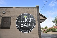 Juice Bar Memphis TN Royaltyfri Fotografi