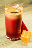 Juice of beet and carrot Stock Photography