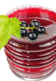 Juice of Berries in Glass with Blackcurrant Royalty Free Stock Photo