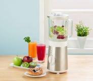 Juice blender machine Royalty Free Stock Photo