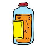 Juice bottle Stock Images
