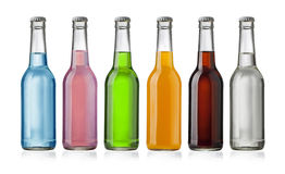 Juice bottle Stock Photos