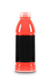 Juice bottle on a white background Stock Photography