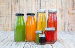 Juice bottle Royalty Free Stock Image