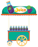 A juice cart Stock Photo
