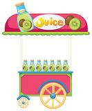 A juice cart Royalty Free Stock Photography