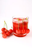 Juice Cherry Stock Photo