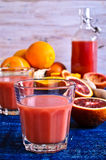 The juice from citrus fruits Royalty Free Stock Photo